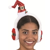 Glitter Mini Santa Hat with Earmuffs