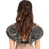 Faux Leather Angel Wings