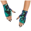 Finglerless Flip Sequin Mitts