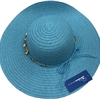 Toyo Straw Colorful Hat with Beads