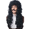 Captain Hook Wig and Mustache