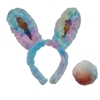 Bunny Ears and Tail - Multicolor