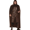 Deluxe Brown Hooded Cape