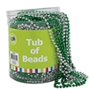 Plastic St. Pat's Tub of Beads