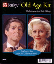 Ben Nye Old Age Makeup Kit (HK-6)