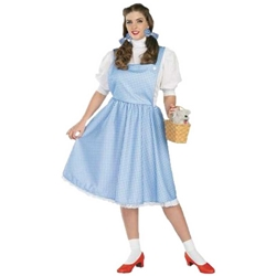 Dorothy Adult - Wizard Of Oz - Plus Size Adult Costume