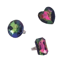 Gem Rings - Colored