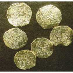 Plastic Gold Doubloons