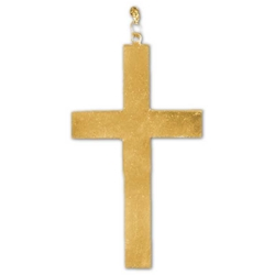 Small Theatrical Gold Cross