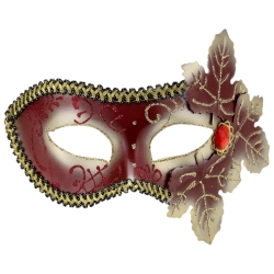 Masquerade Mask with Leaves