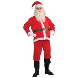 Economy Santa Suit Adult Costume