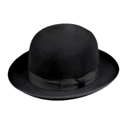 Deluxe Wool Felt Derby Hat