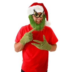 How the Grinch Stole Christmas Grinch Gloves