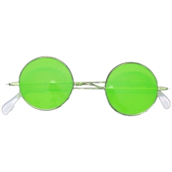 Green Round Frame Glasses