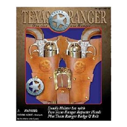 Texas Ranger Double Gun and Holster Set
