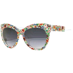 Colorful Cat Frame Glasses