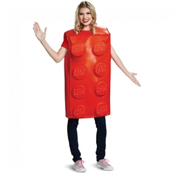 LEGO Red Brick Adult Costume