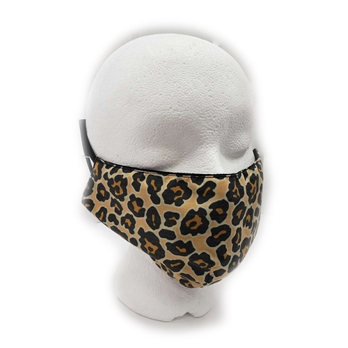 Leopard Print Face Mask Adult, Youth, or Toddler