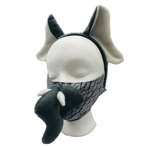 Elephant Face Mask Kit Adult, Youth, or Toddler