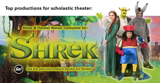Shrek Rental Costumes