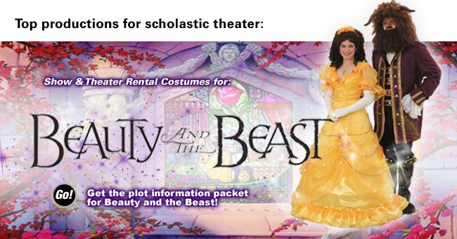 Beauty and the Beast Rental Costumes