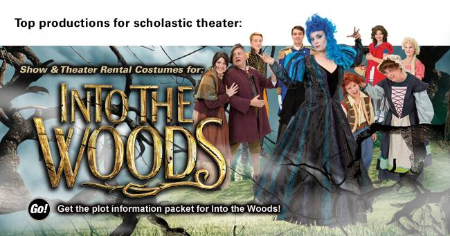 Into the Woods Rental Costumes
