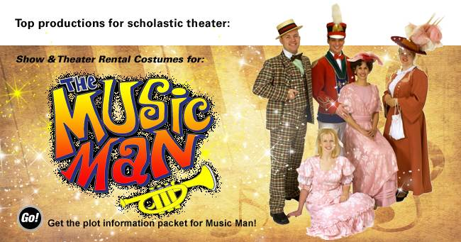 The Music Man Rental Costumes