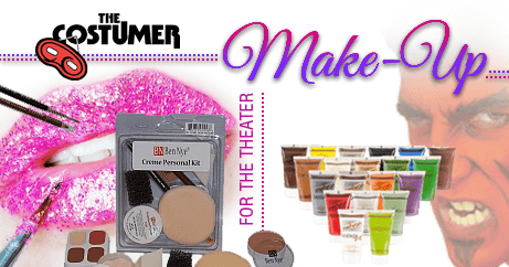 Shop makeup for the stage, theatrical makeup, costume makeup, character makeup, makeup kits, beauty makeup and much more with our wide selection of makeup by both Ben Nye and Mehron.