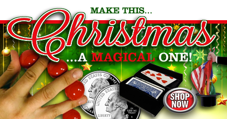 Make This Christmas A Magical One. Magic tricks make great gifts and stocking suffers. Shop all magic.