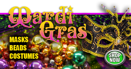 Shop Mardi Gras Masks and Costumes