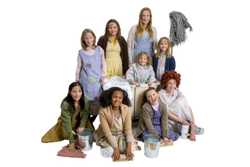 Rental Costumes for Annie - Annie and Orphans