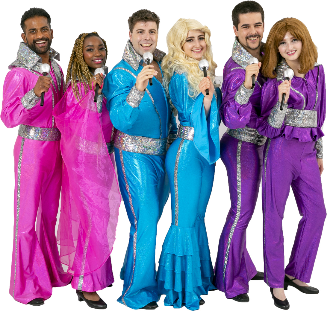 Mamma Mia Unisex Colored Finale Rental Costumes