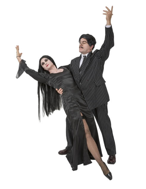 Rental Costumes for The Addams Family - Gomez Addams, Morticia Addams