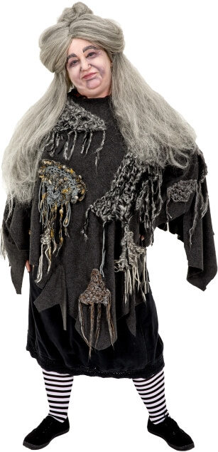 Rental Costumes for The Addams Family - Grandmama Addams