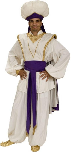 Rental Costumes for Aladdin Jr. - Aladdin dressed as Prince Ali
