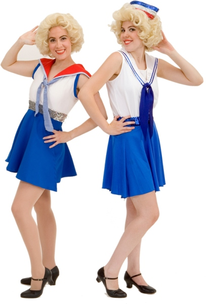 "Rental Costumes for Anything Goes - Angels in their musical number the ""Heaven Hop"""