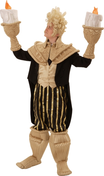 Rental Costumes for Beauty and the Beast - Lumiere the Candelbra  sc 1 st  The Costumer & Beauty and the Beast Version 2 Costume Rentals