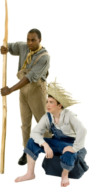 Rental Costumes for Big River - Jim the Runaway Slave, Huckleberry Finn