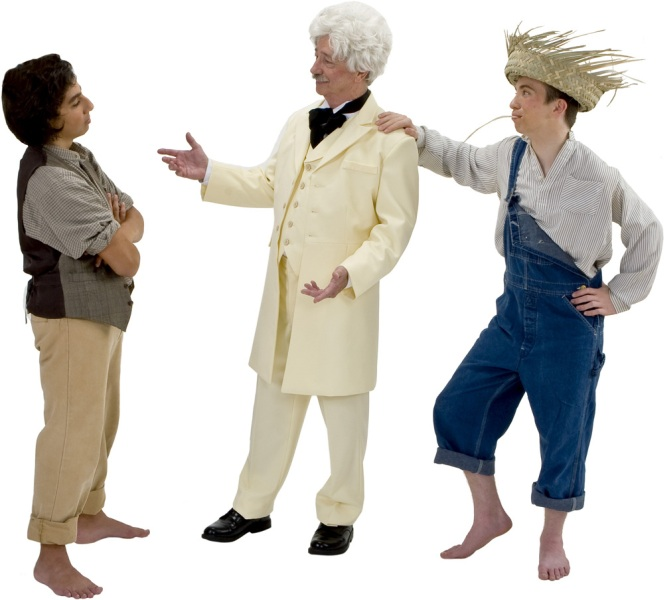 Rental Costumes for Big River - Tom Sawyer, Mark Twain, Huckleberry Finn