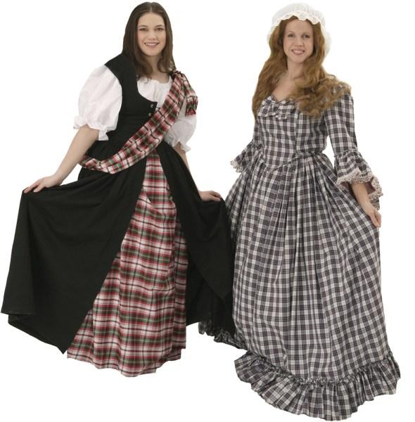 Rental Costume for Brigadoon - Fiona MacLaren, Jean MacLaren