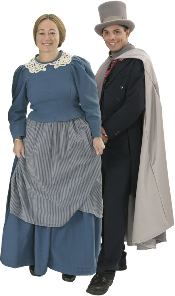 Rental Costumes for A Christmas Carol - Bob Cratchit and Mrs. Cratchit