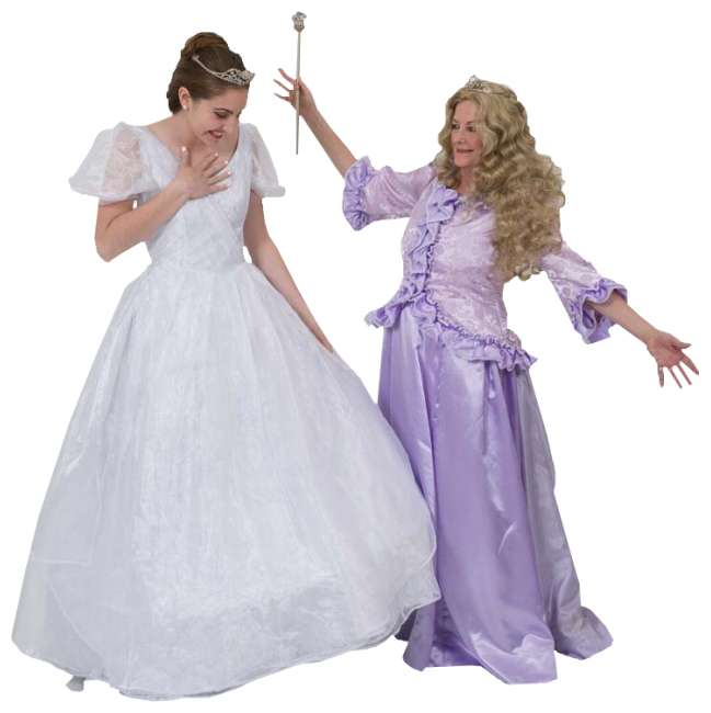 Rental Costumes for Cinderella Broadway RevivalElla & Marie Post Transformation