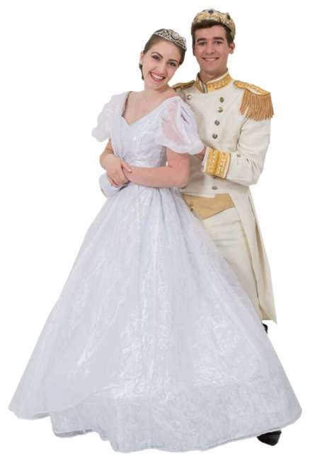 Rental Costumes for Cinderella Broadway RevivalElla & Topher