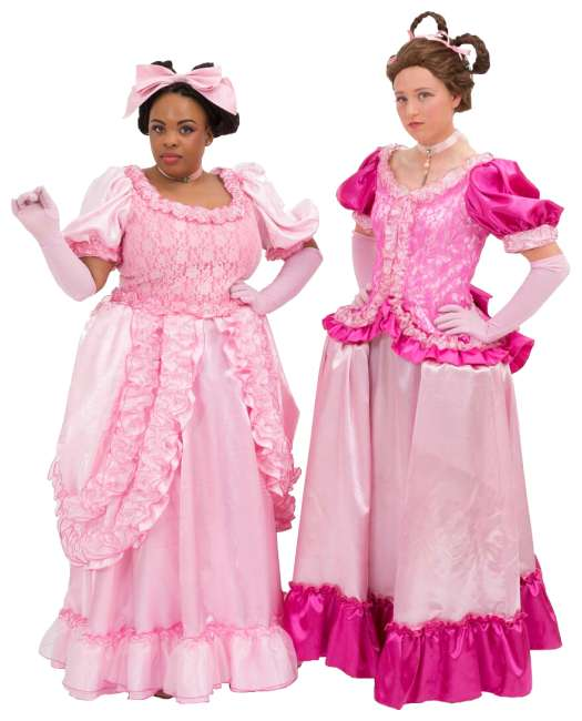 Rental Costumes for Cinderella Broadway Revival Gabrelle, Charlot