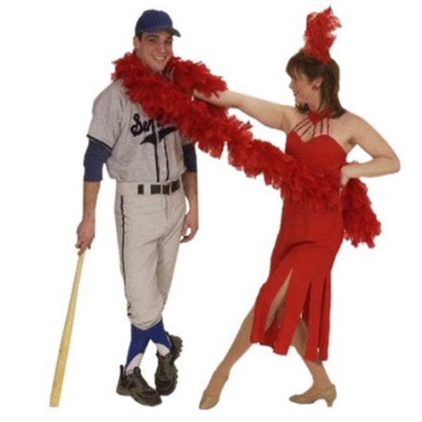 Rental Costumes for Damn Yankees! - Joe Boyd as Shoeless Joe Hardy and Lola