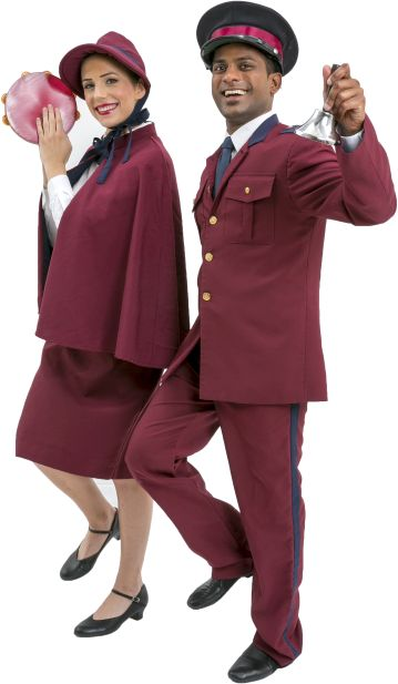 Guys and Dolls Mission Band Male and Female Uniforms Burgundy
