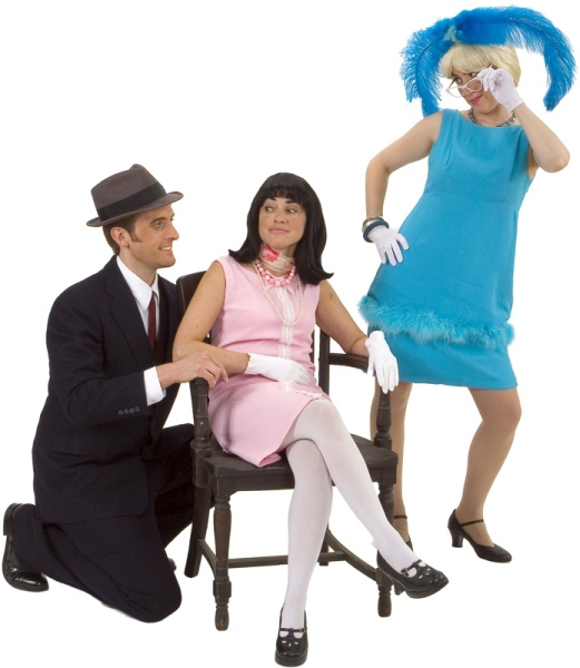 Rental Costumes for How to Succeed in Business Without Really Trying - Rosemary Pilkington, J. Pierppont Finch and Hedy LaRue
