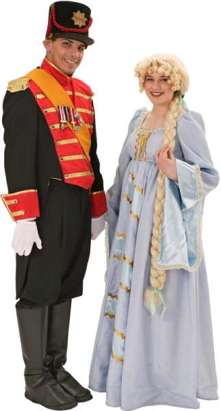 Rental Costumes for Into the Woods - Rapunzel's Prince, Rapunzel