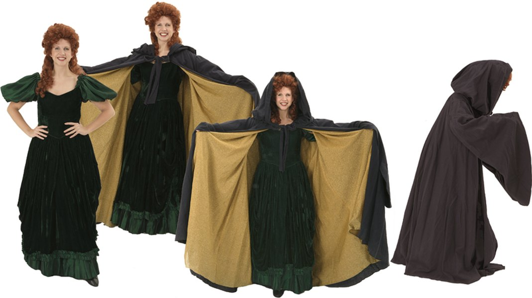Rental Costumes for Into the Woods - Witch in her transformation process