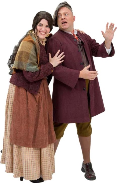 Rental Costumes for Into the Woods – Baker Wife and Baker